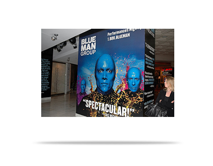 Event Marketing:  Blue Man Group